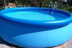 Bungalovy Natura - vonkajší bazén