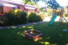 Bungalovy Natura - záhrada