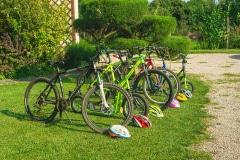 Bungalovy natura - požičanie bicyklov