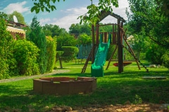 Detské ihrisko s pieskoviskom
